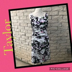 Floral Dress by Taylor   B11